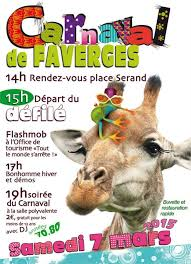 affiche carnaval 2015 faverges