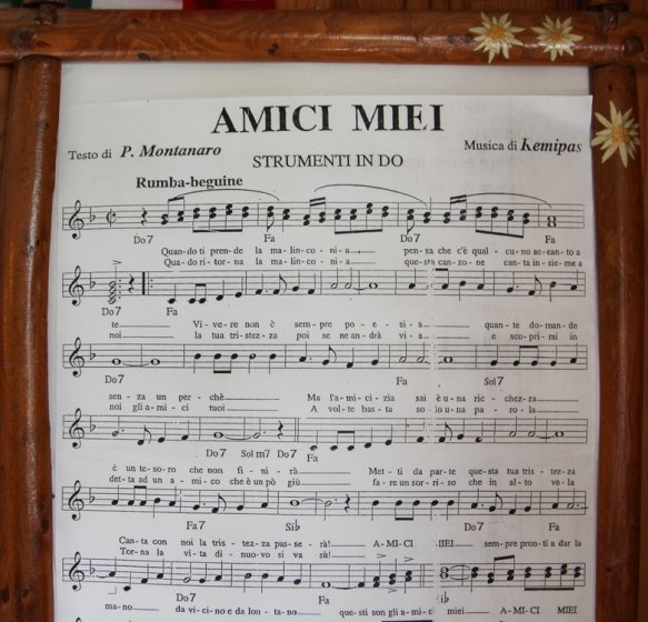 paroles de la chanson Amici Miei